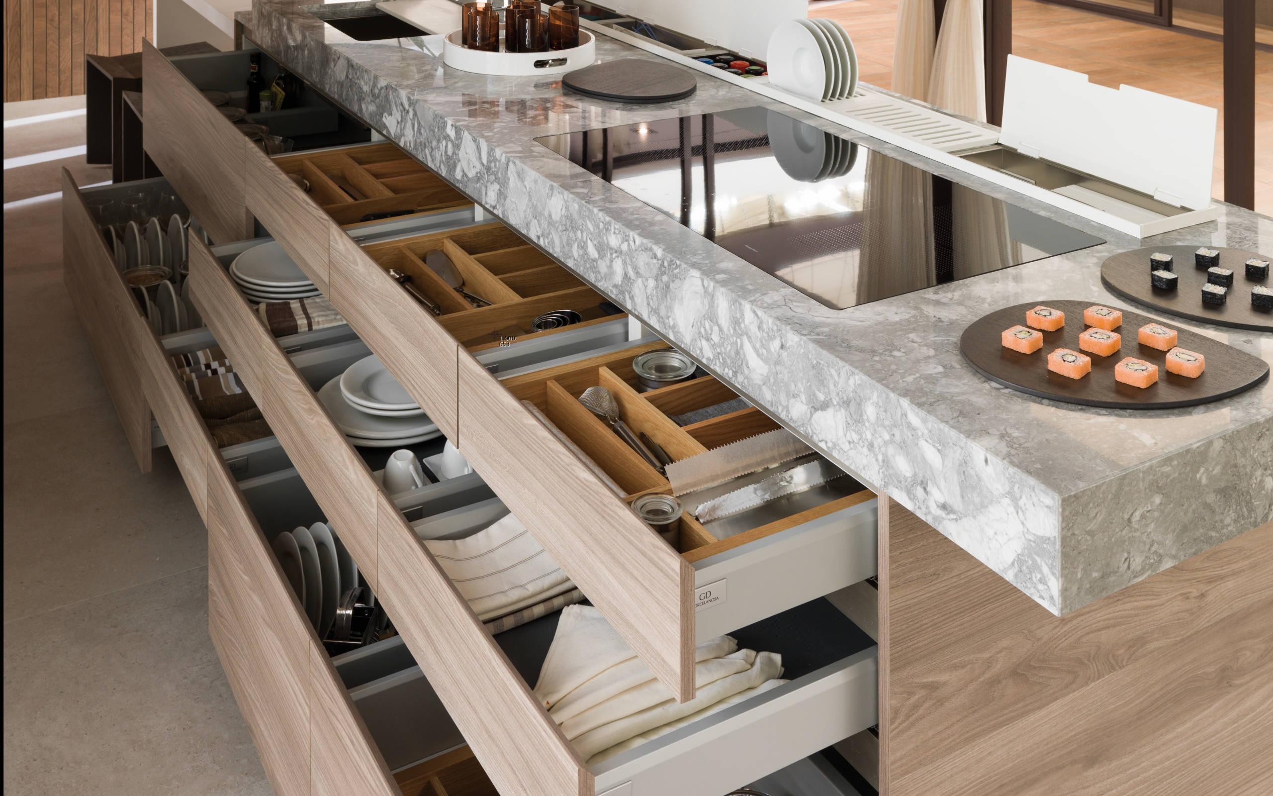 Soluciones para el almacenaje de cocina  equipamiento innovador y práctico  para una óptima organización - GAMADECOR Blog d142e98c3b0b