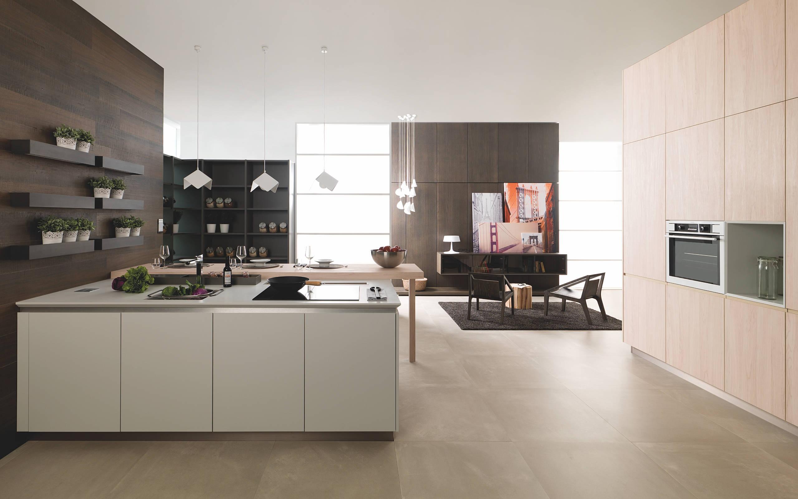 Cocinas residence minimalismo funcional y est tico for Configurador cocinas