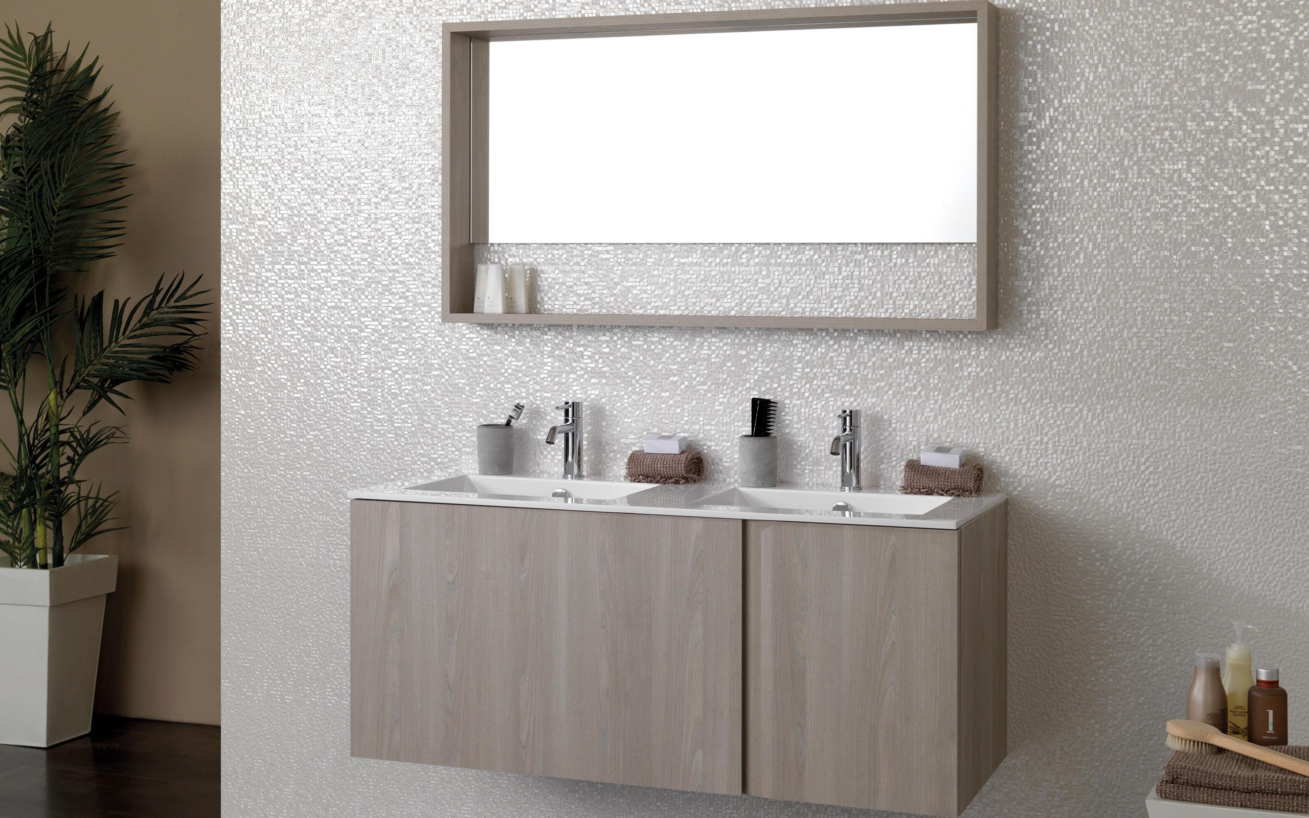 Porcelanosa Meuble De Salle De Bain core et tuck. des meubles de salle de bains novateurs et