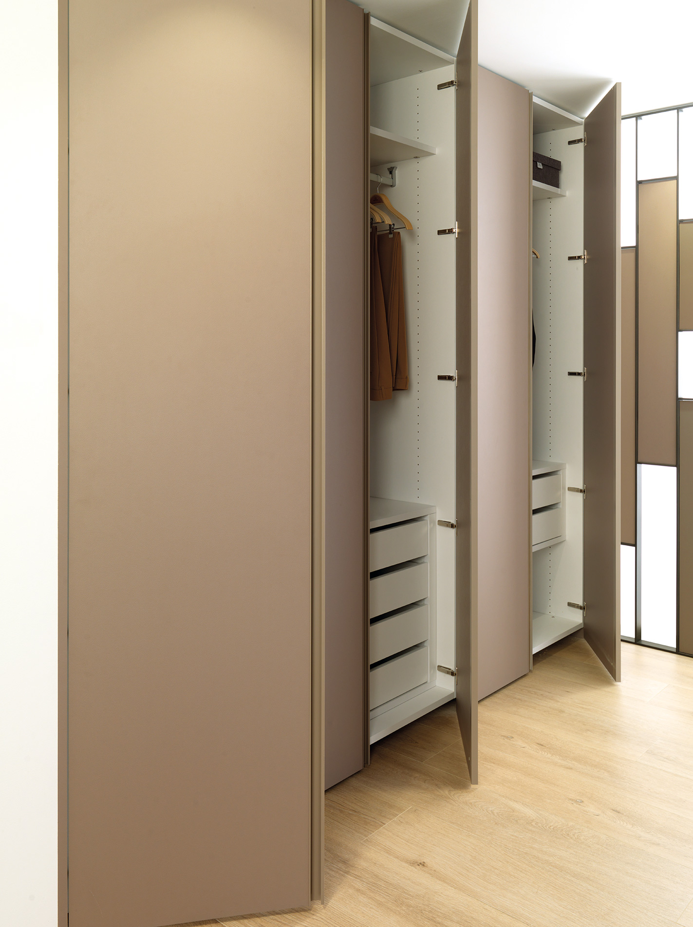 SIMA 2018: a showcase for Gamadecor's kitchens and wardrobes